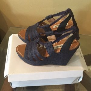 Steve Madden wedge Sandals sz 10
